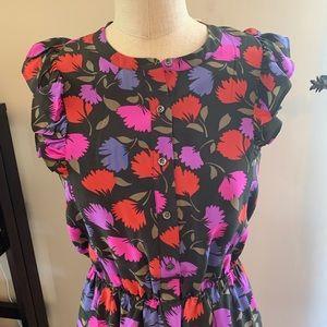 NWT J. CREW Silk Dress 8